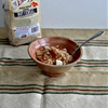 Whole Wheat Farina Hot Cereal with Brown Sugar, Cinnamon, and Apples