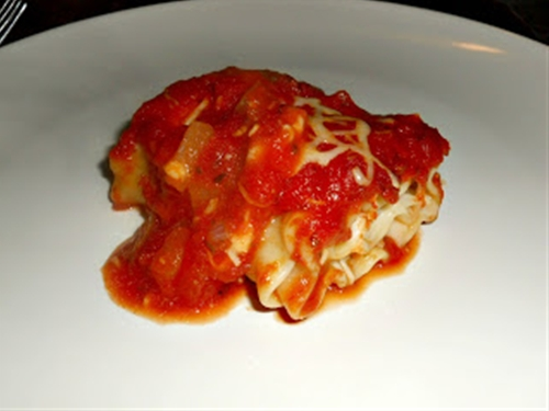 Eggplant Lasagna Roll-Ups