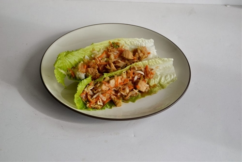 Mu Shu Chicken Lettuce Wraps-Hezzi-D