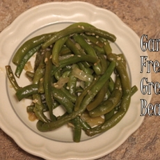 Garden Fresh Cooked Green Beans