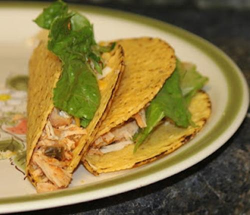 Chicken Tacos (Crockpot Freezer Meal)