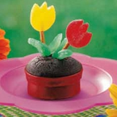 flowerpot cupcakes | cute everything