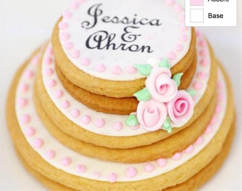 wedding cookie cake | cute everything