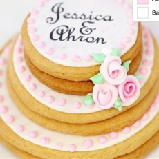wedding cookie cake | cute everything
