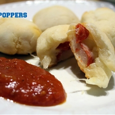Gluten Free For Jen: Big Game, Big snacks- Pizza Poppers! #Recipe