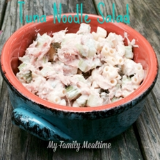 Simple Tuna Noodle Salad