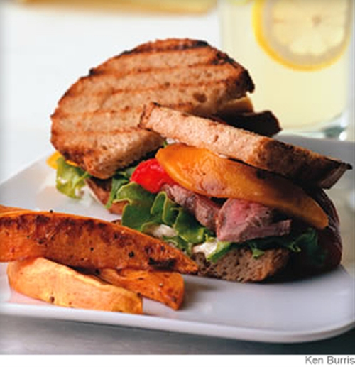 Bistro Flanke Steak Sandwich