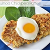 Low Carb Gluten-Free Quinoa Chickpea Patties