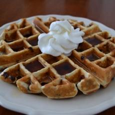 Chia Chocolate Chip Waffles