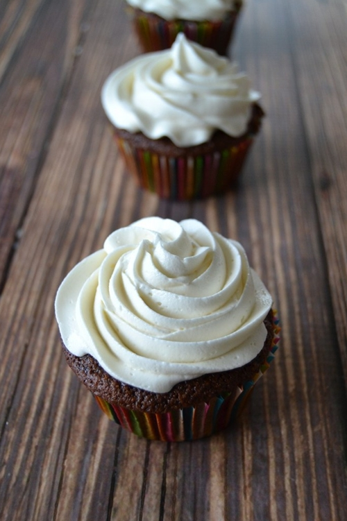 Spicy Chocolate Cupcakes With Buttercream Frosting