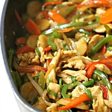 Thai Spicy Basil Chicken