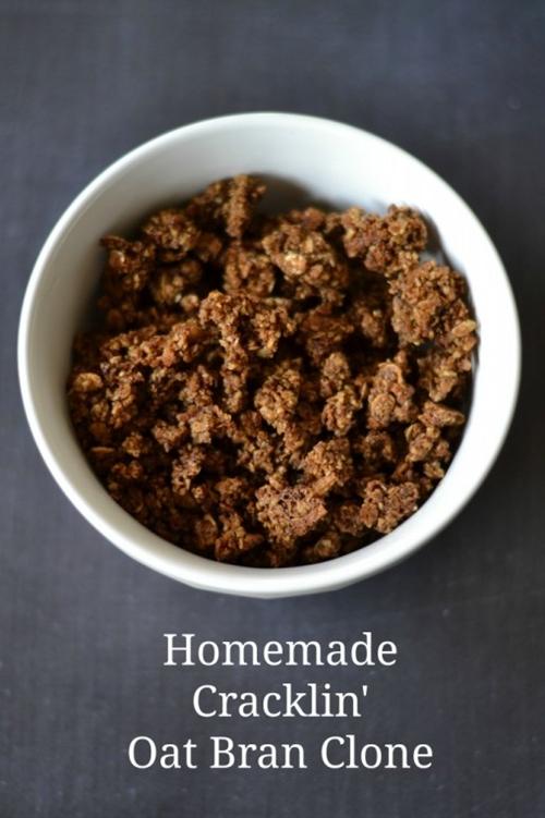 Cracklin Oat Bran Cereal Clone  (Gluten-Free Recipe)