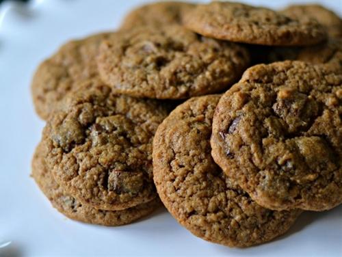 Cinnamon Espresso Chocolate Chunk Cookies