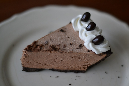 Mocha Pudding Pie