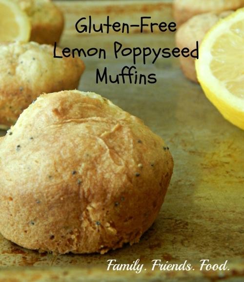 Gluten-Free Lemon Poppyseed Muffins