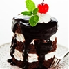 Mini Layered Chocolate Bliss Cakes Recipe