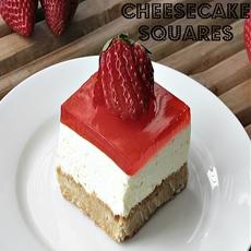 Jello Cheesecake Squares
