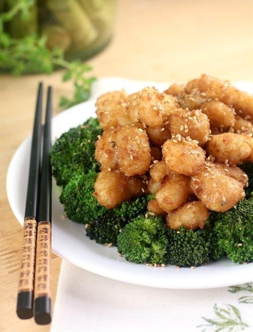 Sesame Shrimp (30 Minute Meal!)