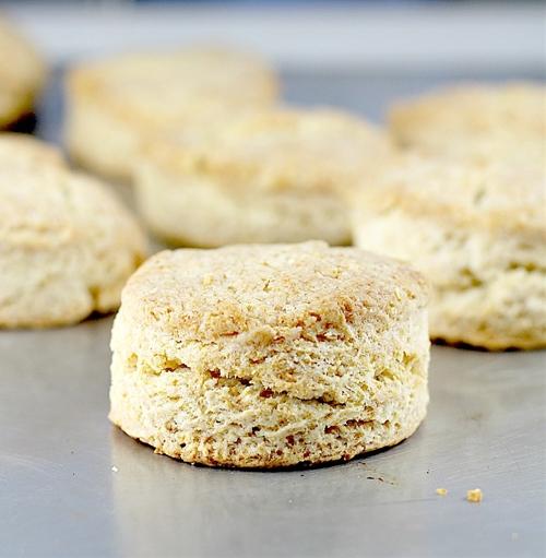 Flaky Yogurt Biscuits