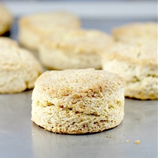 Flaky Yogurt Biscuits
