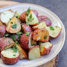 horseradish roast potatoes