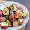 horseradish roast potatoes