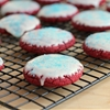 Murica Red Velvet Cake Mix Cookies