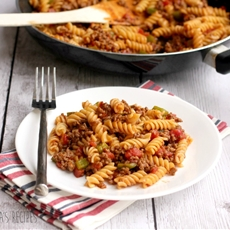 Sloppy Joe Pasta