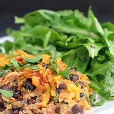 Quinoa and Black Bean Casserole