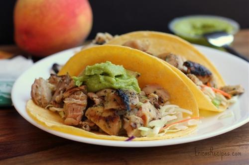 Healthy Week: Orange and Cilantro-Marinated Chicken Tacos