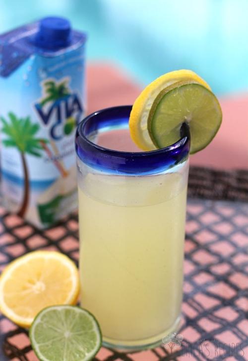 Healthy Homemade Sports Drink {My-Torade!]