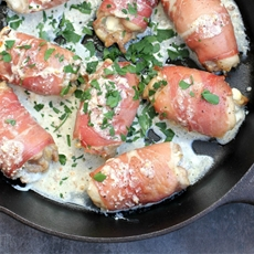 Boursin Chicken with Prosciutto