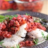 Grilled Mahi Mahi with Cherry Chipotle Salsa