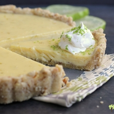 Walnut Lime Tart