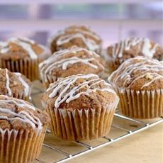 Caramel Pecan Coffee Cake Muffins (DF)