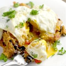 Slow Cooker Quinoa Tamale Casserole {DF,GF}
