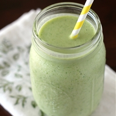 The Tropical Green Smoothie