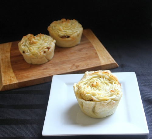 Mini Potato Top Pies