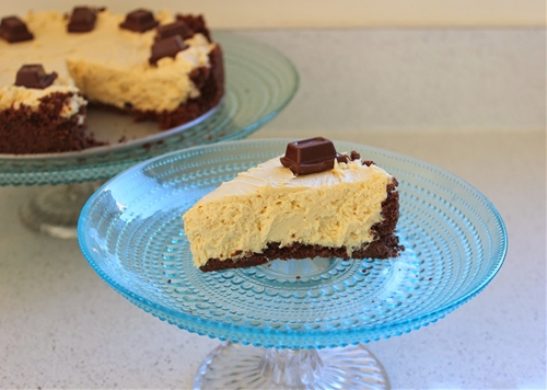 Peanut Butter and Chocolate Cheesecake