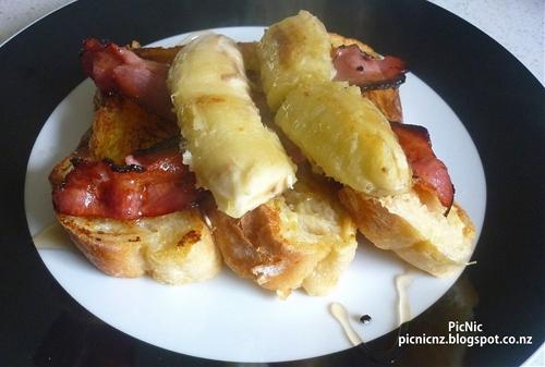 Bacon and Banana French Toast