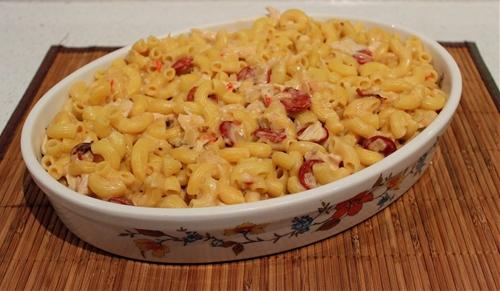 Chili Macaroni Cheese
