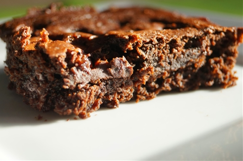 Skinny Chocolate Chip Brownies