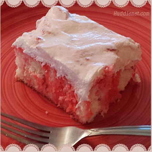 Strawberry Marble Cake