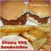 Sloppy BBQ Sandwiches