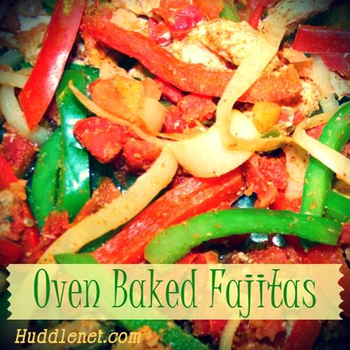 Oven Baked Fajitas