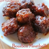 Bourbon Glazed Meatballs