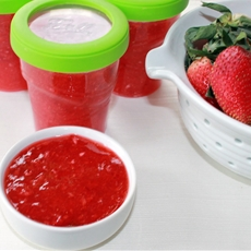 Easy Strawberry Freezer Jam