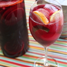 Perfect Summertime Sangria