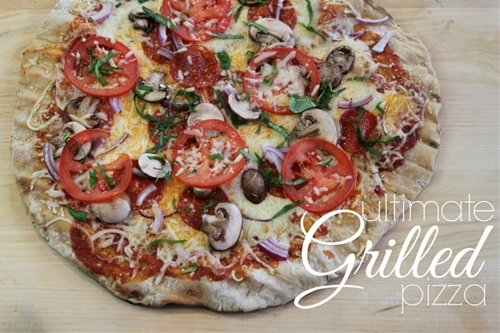 Ultimate Grilled Pizza