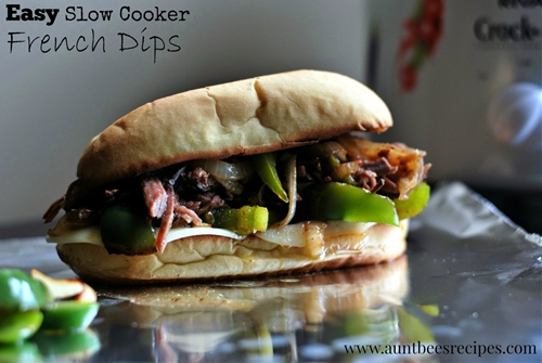 Easy Slow Cooker French Dips
